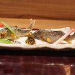 日本料理 とくを - 琵琶湖子持ち鮎