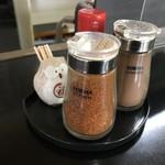 レストハウスかしわ - 調味料