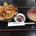 レストハウスかしわ - 豚丼一式(大盛)