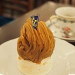 銀座みゆき館 - 和栗のモンブランはさすが!のお味