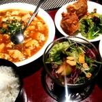 chuugokuryourichimmin - 麻婆豆腐セット