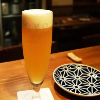 選び抜かれたお店でのみ楽しめる、特別なビール【白穂乃香】