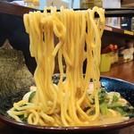大岡家 - ラーメン690円麺アップ