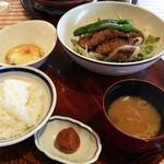 洋食勝井 - 黒毛和牛網焼  2000円