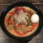 麺や 結 - 担々麺(850円)+味玉(100円)