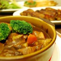 ミユンヘン - 牛肉のビール煮。 野菜を入れたソースでじっくり!
