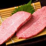 神戸牛・個室焼肉 大長今 - 料理写真:希少部位のミスジもご用意!見よ!この霜降り★