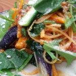 かふぇ&れすとらん しふぉん - 週末ディナー限定の「野菜たっぷりトマトパスタ」