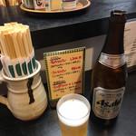かっぱ - おビール2本分待ちました(´・ω・`)