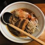 味噌ラーメン専門店 麺と人 - 角煮辛味噌らーめん
