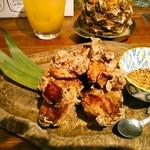 アガリコ マサール - オロゴン秘伝!鶏の唐揚げ  480円(税別)  山椒スパイスがつきます。