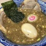 庵悟 - 具沢山な特製あつもりのつけ汁(1,100円税込)
