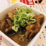 大衆酒場肉のオカヤマ - 牛煮込み