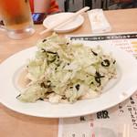 大衆酒場肉のオカヤマ - 塩ダレキャベツ