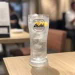 焼肉とんび - 生レモンサワー