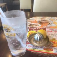 バーミヤン-生搾りレモンサワー