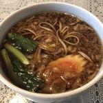 生そば 中川屋本店 - たぬき蕎麦 ¥500