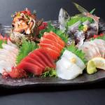 浜焼き しんちゃん - しんちゃん刺し盛り   2780円