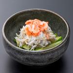 浜焼き しんちゃん - しらす桜えびの塩ダレ   480円