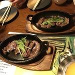 かえるの九八郎 - 牛タン鉄板焼