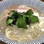 寿製麺 よしかわ - 限定2の煮干し濃いめラーメン