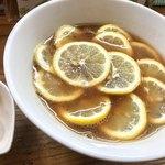 りんすず食堂 - レモンラーメン