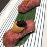 93612146 - 肉寿司