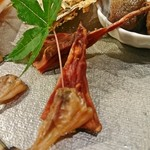 魚貝三昧 げん屋 - ばちこ炙り