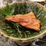 魚貝三昧 げん屋 - 極厚ばちこ炙り