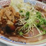 サバ6製麺所 - 少しメンマが多い気が…♪lucky