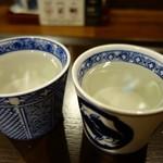 日本酒Bar角打ち - (2018/7月)久比岐と玉風味