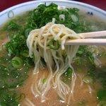 らーめん藤 - ストレート細麺