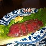 婆娑羅 - 鹿生肉の刺身