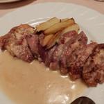 マリア・エ・マリオ イタリア料理店 - ハンガリー産鴨肉の酒粕ソース