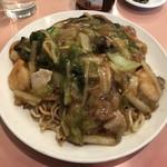 華華餐庁 - 料理写真:あんかけ焼きそば