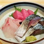 清寿司 - 刺身盛合せ