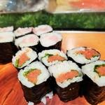 清寿司 - とろ鉄火、明太子巻