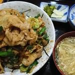 阿Q - 焼肉丼 800円
