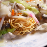 長崎ちゃんぽん ぽんた - 皿うどん かた麺