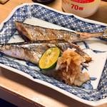 すみれ - 新物 生さんま焼 600円