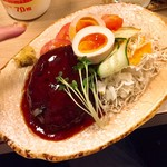 すみれ - 自家ハンバーグ 600円