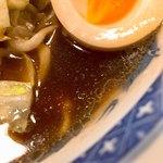 すみれ - あっさり醤油スープ