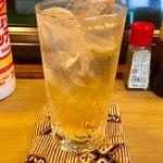 すみれ - 緑茶ハイ