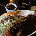 あけぼのや - 料理写真:「味噌かつ丼」