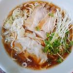 昆鰹和味庵 優味ん - 鶏チャーシューワンタン麺ちゃん。