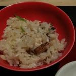 エクシブ 鳥羽別邸 - 松茸釜炊きご飯