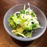 スパイス工房KANON - りんごのドレッシングのサラダ