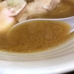 濃厚鶏麺 ゆきかげ - 黒(濃厚醤油)