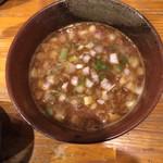 93634554 - カレーつけ麺のつけ汁