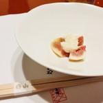 sukiyakikappouhiyama - 先付 無花果の白和え